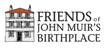 Friends of John Muir's Birthplace Logo
