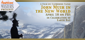 John Muir in the New World flyer
