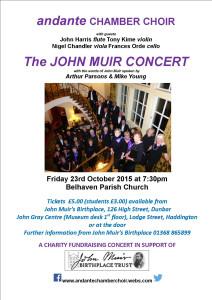 23 Oct Concert Poster