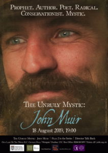 The Unruly Mystic: John Muir film poster